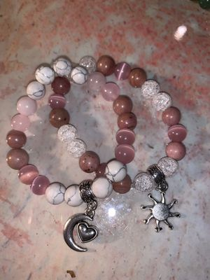 Sun & moon Crystal Bracelet for Sale in Denver, CO