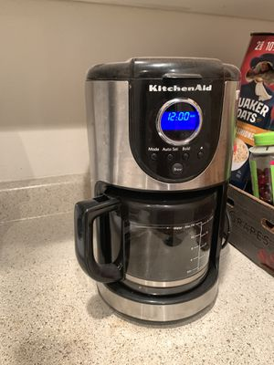 KitchenAid KCM111OB 12 Cup Coffee Maker for Sale in Portland, OR
