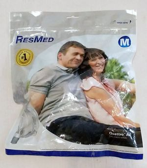 SEALED NEW ResMed Quattro Air Full Face Mask - #62702 - Medium for Sale in Lynnwood, WA