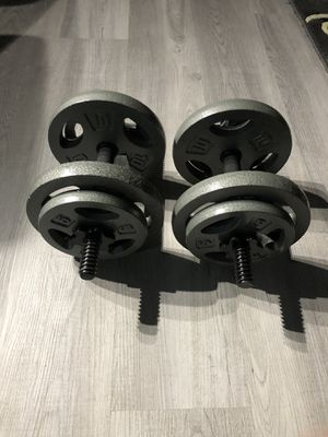 Brand new dumbbell weights for Sale in Chicago, IL