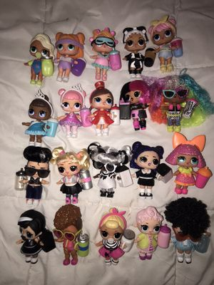 20 lol surprise dolls- reserved for Janet for Sale in Silver Spring, MD