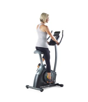 Gold's Gym Trainer 300 Ci Upright exercise bike - iFit compatible for Sale in Gardendale, TX