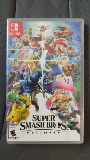 BRAND NEW Super Smash Bros Ultimate for Nintendo Switch 2018 for Sale in San Diego, CA