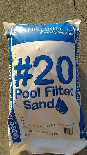 Pool filter sand for Sale in Whittier, CA