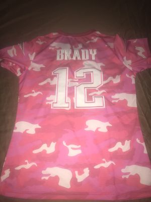 Tom Brady New England Patriots Embroidered Jersey for Sale in Indianapolis, IN