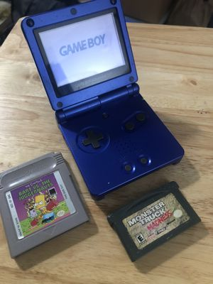 Nintendo Gameboy advance sp 001 bundle for Sale in Los Angeles, CA