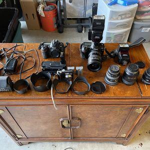 Nikon D300 & D200 w/lenses for Sale in Poway, CA