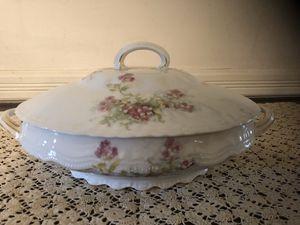 Antique Porcelain Serving Bowl for Sale in Centreville, VA