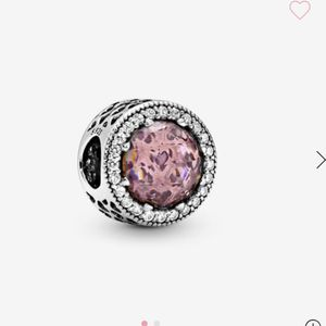 Pandora Sparkling Blush Pink Charm for Sale in Huntington Beach, CA