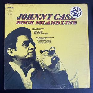 Johnny Cash – Rock Island Line. Album still has original shrink wrap covering. Vinyl in awesome condition. No inner sleeve included. Hilltop – JS-6 for Sale in Bradenton, FL