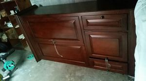 Nice tv stand with draws free free free for Sale in Chelsea, MA