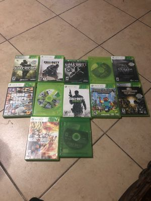 xbox 360 games and some xbox one for Sale in Phoenix, AZ