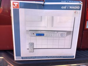 True tech Space saving kitchen CD and radio for Sale in Pennsauken Township, NJ