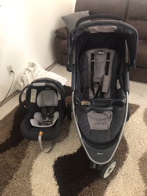 Infant car seat and jogging stroller for Sale in Auburn, WA