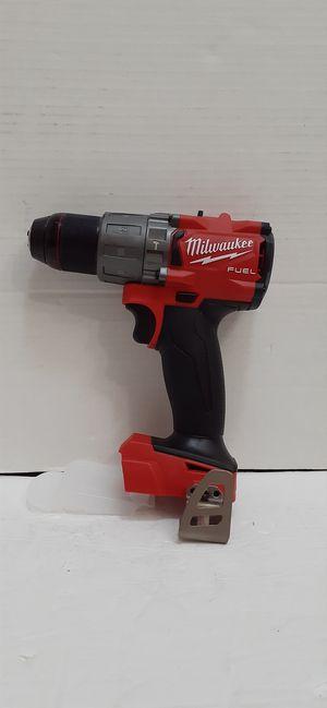 Milwaukee M18 fuel brushless 3rd generation Hammer drill used like new for Sale in San Bernardino, CA