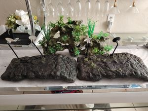 Turtle/fish Tank Decoration and 2 Large Docks for Sale in Pompano Beach, FL