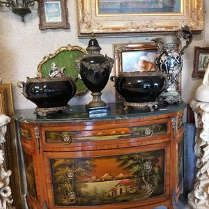 Set of vases porcelain and bronze for Sale in Miami, FL
