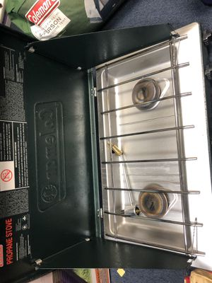 Outdoor camping grill with propane for Sale in Manassas, VA