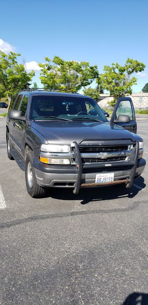 2002 Chevy Tahoe LS 4x4 V8 for Sale in Everett, WA