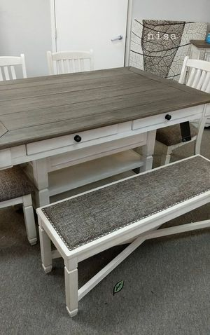 🏷Best OFFER. Bolanburg Antique White/Oak Counter Height Set for Sale in Jessup, MD