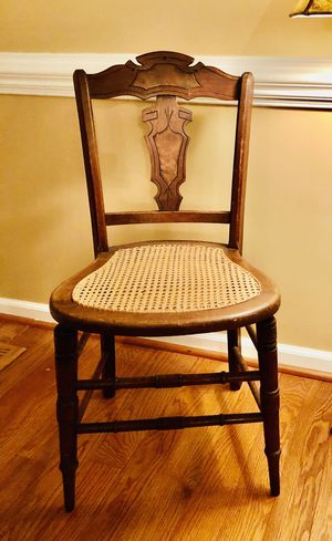 Antique Cane chair for Sale in Wake Forest, NC
