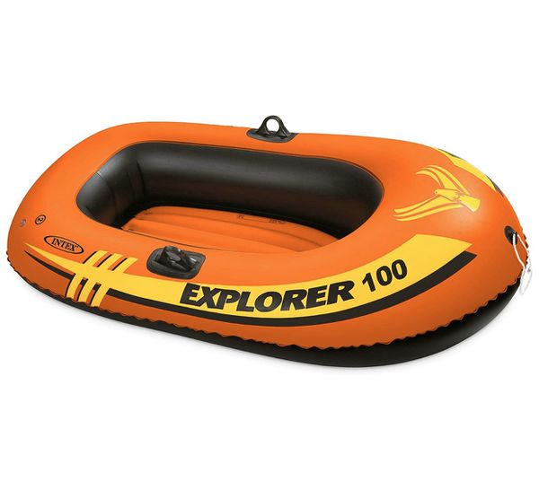 1 person blow up raft boat. Brand new never used or blown up!