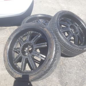Rims only no tirez 10 holes universal for Sale in Los Angeles, CA