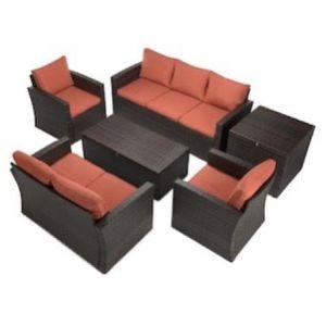 6 PCS Outdoor Conversation Sofa Set for Sale in Los Angeles, CA