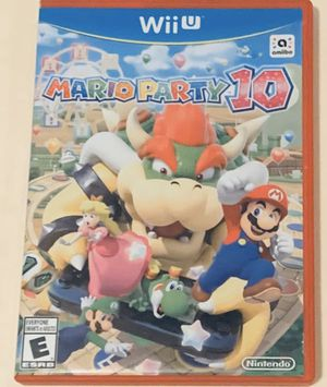 Wii U Game: Mario Party 10 for Sale in Issaquah, WA