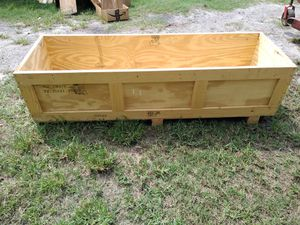 Large wooden crate/Halloween decoration for Sale in Seffner, FL