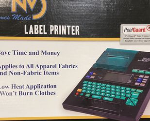 Stahls Names Made Label Printer- For Clothing- Crafting- $600 Orig Price for Sale in Gaithersburg,  MD