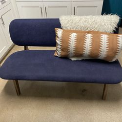 Small Navy Couch/accent Chair for Sale in Phoenix,  AZ