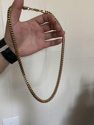 18k gold chain for Sale in Montebello, CA