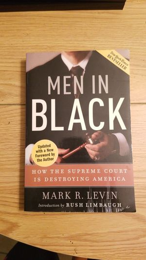 Men In Black book by Mark Levin 1st Ed. for Sale in Tampa, FL
