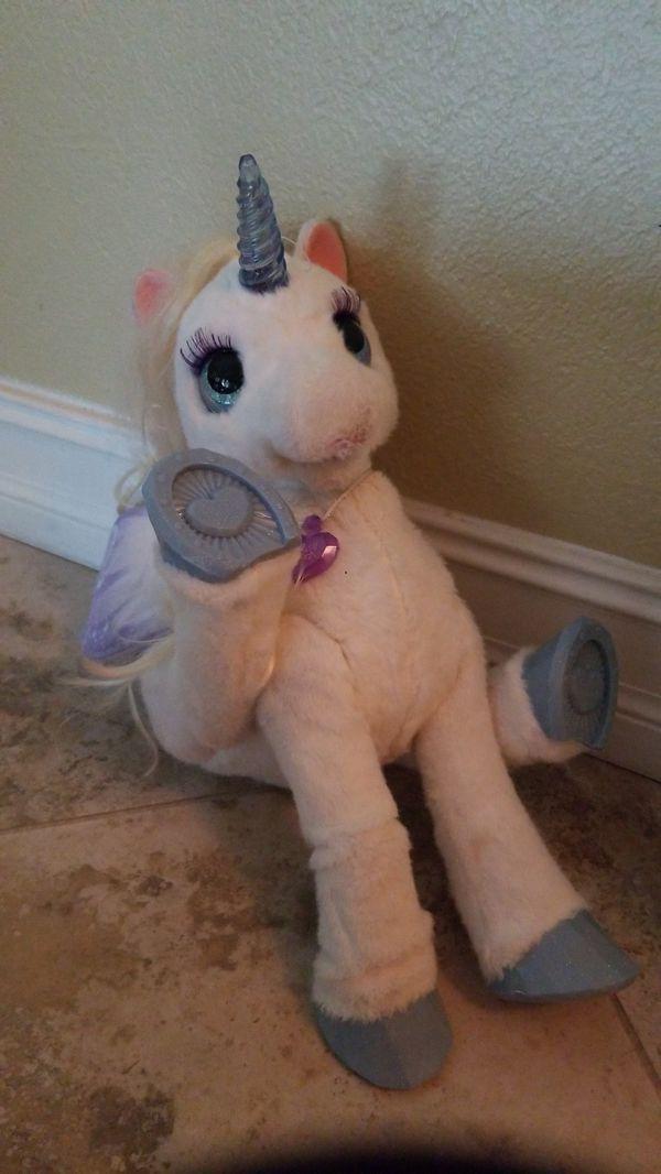 FurReal Friends StarLily, My Magical Unicorn, White
