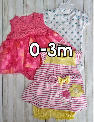 Baby Girl Outfits - Flowers & Stripes for Sale in St. Cloud, FL
