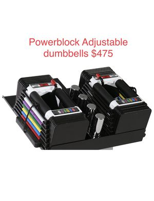 PowerBlock Personal Adjustable dumbbells, from 5 to 50 lbs. Bowflex alternative for Sale in South El Monte, CA