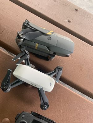 Dji drone spark and a Dji Mavic pro for Sale in Tampa, FL