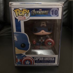 Avengers Assemble Captain America Funko Pop for Sale in Hialeah, FL