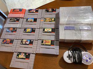 Super Nintendo Bundle for Sale in Federal Way, WA