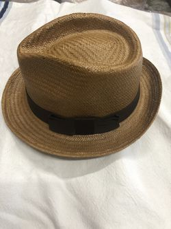 Brooklyn Hat Co. Size Med, Tea Color Fedora Style Hat for Sale in San Diego,  CA