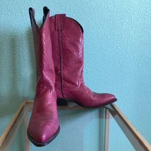 Dark Pink Women Western Boot - Size 6 for Sale in Fort McDowell, AZ