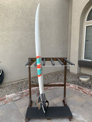 Surfboard rack stand 7 or 5 board for Sale in Huntington Beach, CA