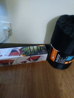 Camping tent and sleeping bag for Sale in Durham, NC