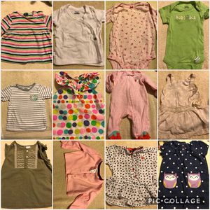 Baby girl clothes NB - 12 months for Sale in Houston, TX