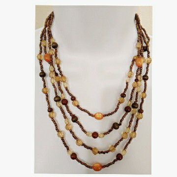 Colorful Fall Colors Necklace