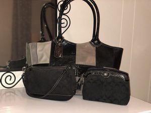 Lightly used authentic coach purses for Sale in Silver Spring, MD
