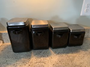 Kitchen Canisters for Sale in Manassas, VA