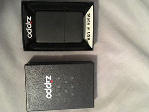 Matte black Zippo lighter for Sale in Gary, IN