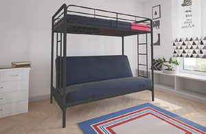 Twin Over Futon Bunk Bed **Brand New in Unopened Box** I deliver for Sale in Bedford Heights, OH